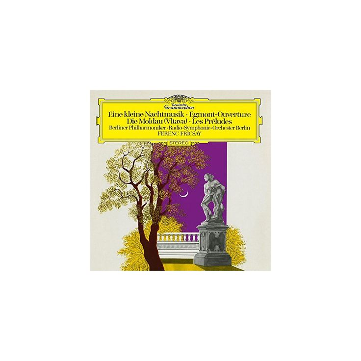 Ferenc Fricsay - Eine Kleine Nachtmusik, Egmont Overture, Die Moldau (Vltava), Les Préludes (Vinyl)