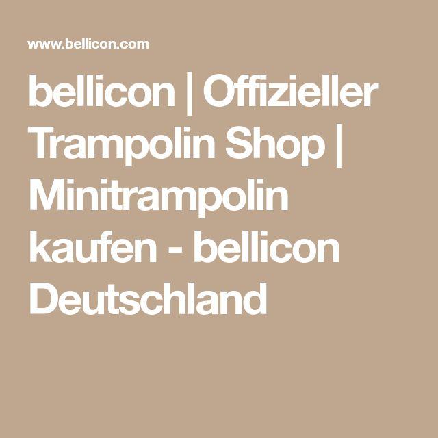 bellicon   Offizieller Trampolin Shop   Minitrampolin kaufen - bellicon Deutschland