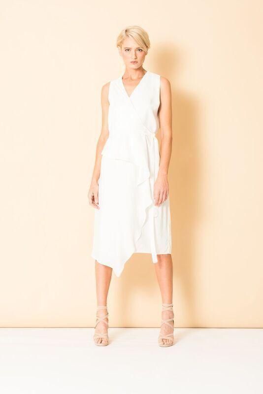 Chalice - Drape Wrap Dress