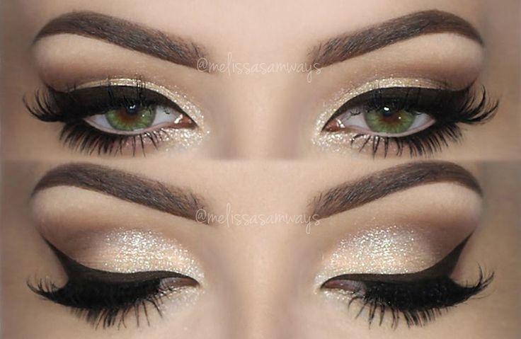 CHAMPAGNE Smokey Eye ♡ Make Up TUTORIAL ♒Thank You♒I Love You♒
