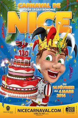"""Carnaval 2014 #Nice : à partir du 14 février et pour 3 semaines, le Carnaval sera cette année """"Roi de la Gastronomie"""" ! #carnaval #carnival"""