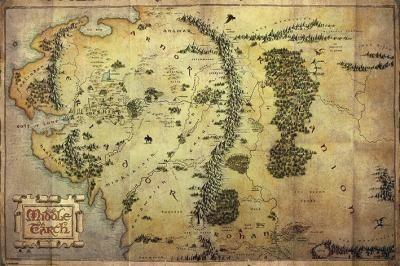 Poster The Hobbit.