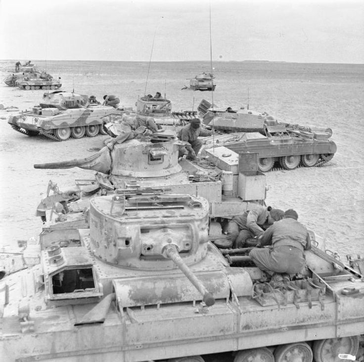 valentine tank at el alamein