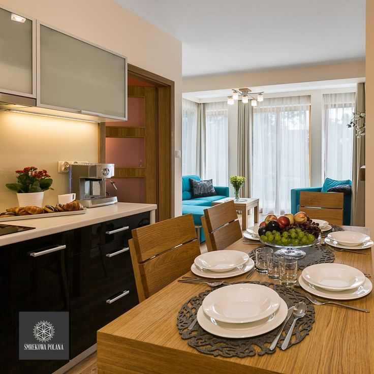 Apartament Nosal - zapraszamy! #poland #polska #malopolska #zakopane #resort #apartamenty #apartamentos #noclegi #livingroom #salon #kitchenette