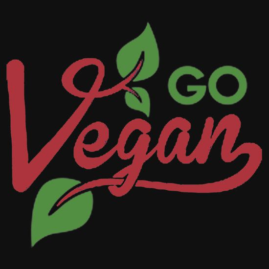 GO VEGAN.  THIS DESIGN AVAILABLE ON UNISEX T-SHIRT, STICKER, PHONE CASE, AND 20 OTHER PRODUCTS. CHECK THEM OUT.