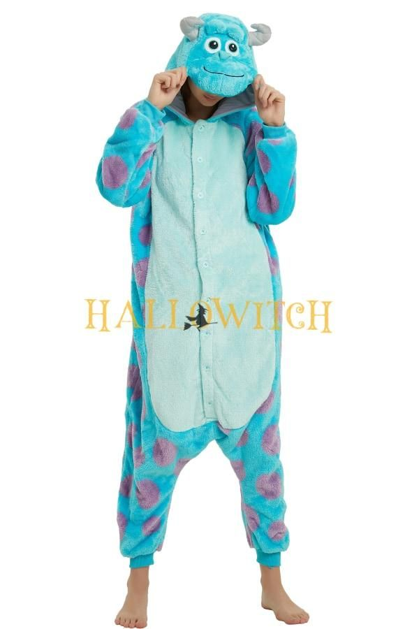Monster Inc Sulley Animal Onesie For Adults And Teenagers Animal Onesie Monsters Inc Onesie Cute Onesies