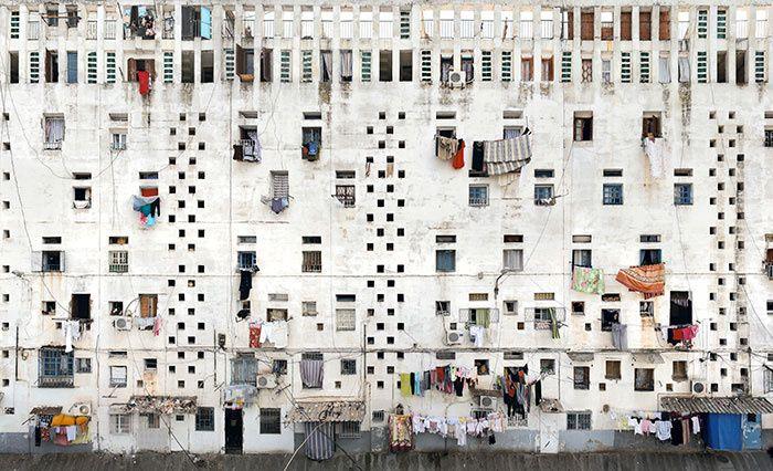 Exposition Stéphane Couturier dans la cité Climat de France de Fernand Pouillon, jusqu'au 28 septembre à l'Hôtel des Arts / Alger, Climat (2011-2012) © Stéphane Couturier