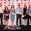 Prize winners at the Emirates Rugby Long Lunch #Dubai7s #longlunch