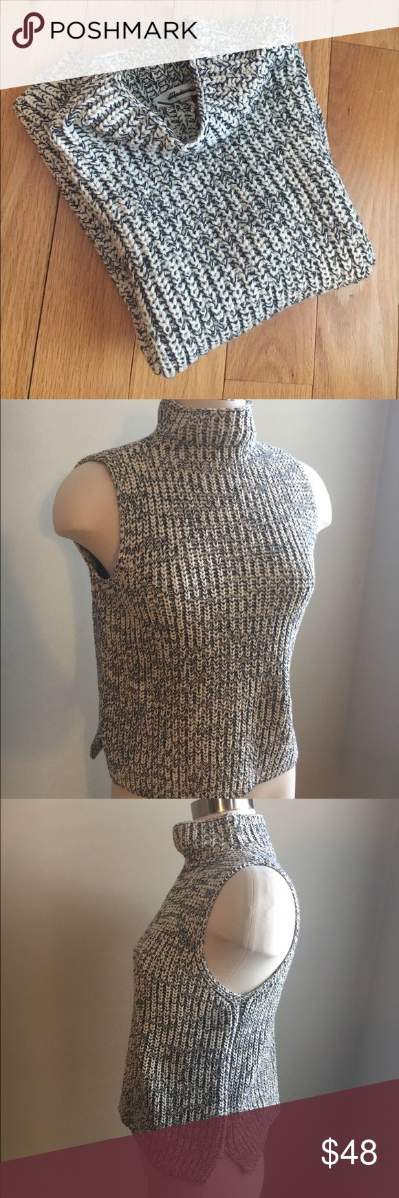 NEW MADEWELL Veranda Sleeveless Sweater NEW MADEWELL Veranda Sleeveless Sweater. Super cute. Ersatile tutleneck sweater. Multi seasonal and can be worn alone or layered up.  ❌no trading or holding✅ACCEPTING REASONABLE OFFERS✅ Madewell Sweaters
