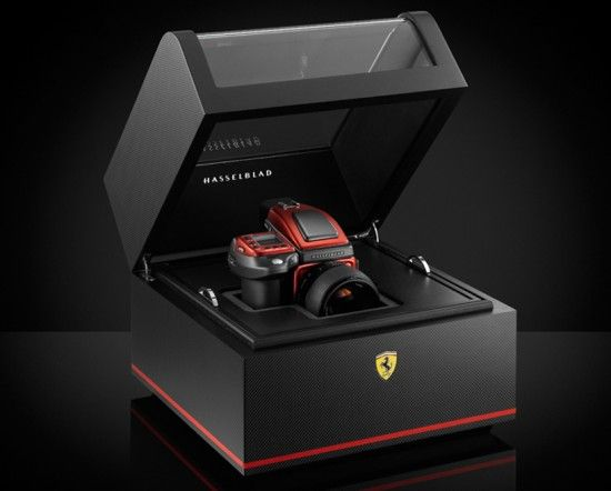 Ferrari Edition Hasselblad. A really quick shutter speed and has a good grip