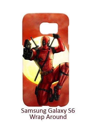 Deadpool Sky Blood Case for Samsung Galaxy S6