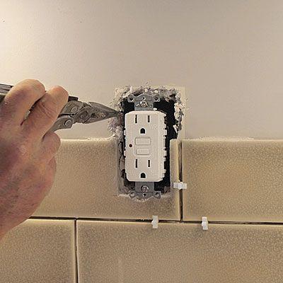 Preparing For A Tile Backsplash When Preparing To