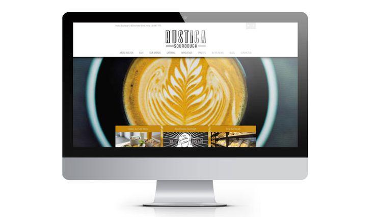 Website Design for Rustica Sourdough