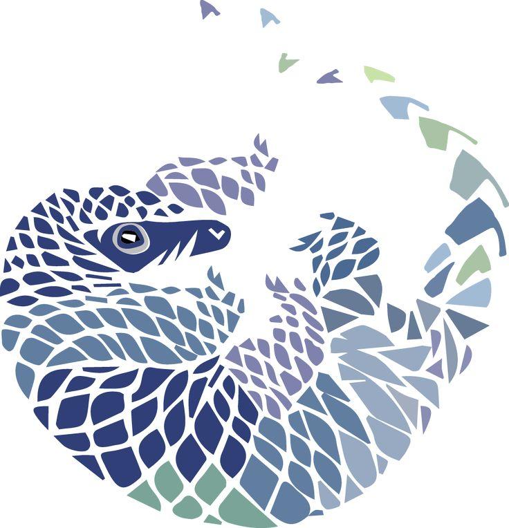 pangolin+revised+2.png (899×934) Illustration design