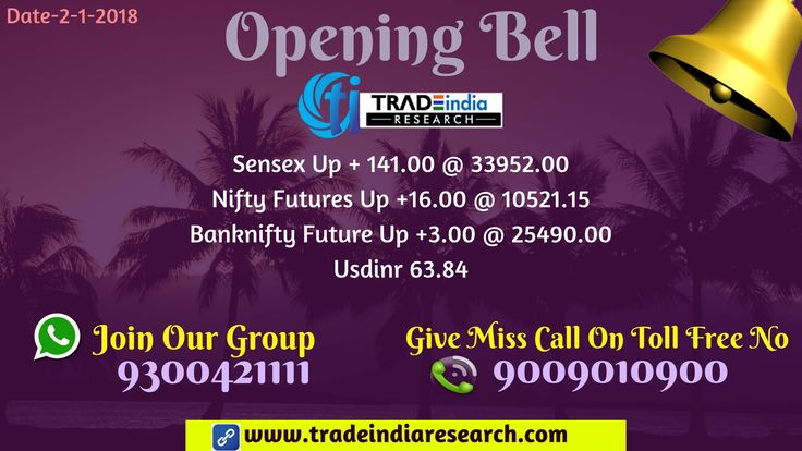 Stock Market #Openingbell #Sensex #Bank #Nifty  #equity #Commodity #stocks #market  #news  currency, depository, online #trading mutual funds. opening Bell Update  - 2nd January 2018 By TradeIndia Research