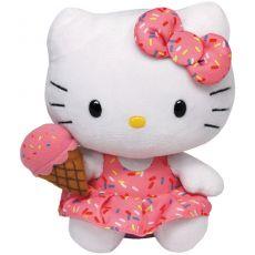 Ty Beanie Hello Kitty met ijsje knuffel poppen & knuffels speelgoed - Vivolanda