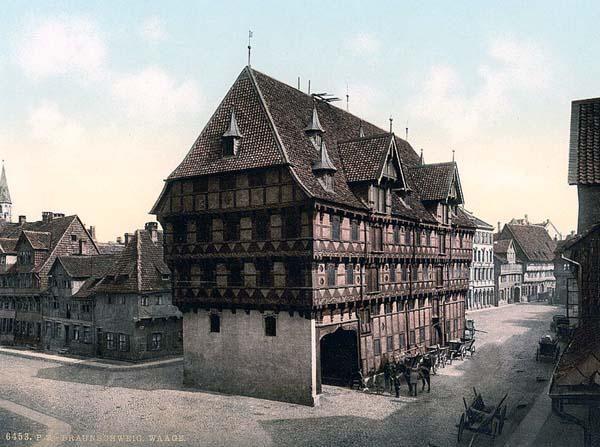 Braunschweig Historical monuments, Germany, Brunswick