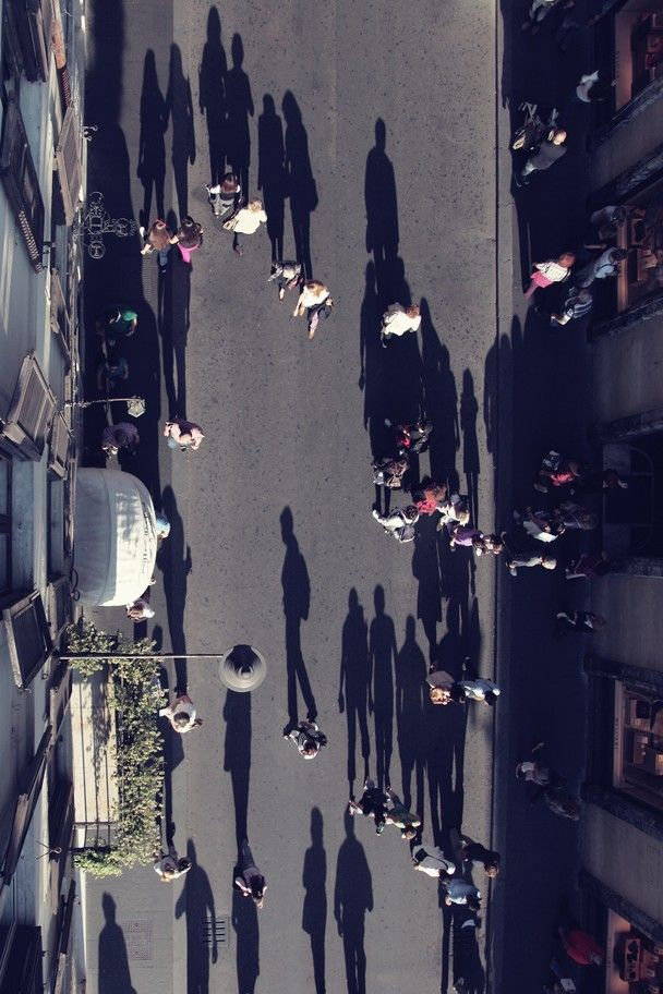 "Photo/Faisal Almalki. People walking on the ""Via Dei Condotti"" street leading to and from the Piazza di Spagna."