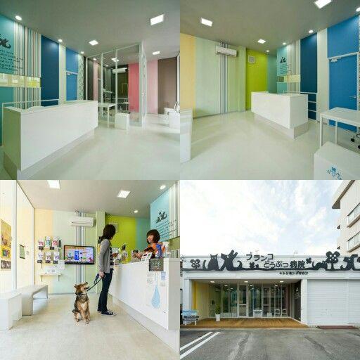 どうぶつ病院。店舗デザイン;名古屋 スーパーボギー http://www.bogey.co.jp