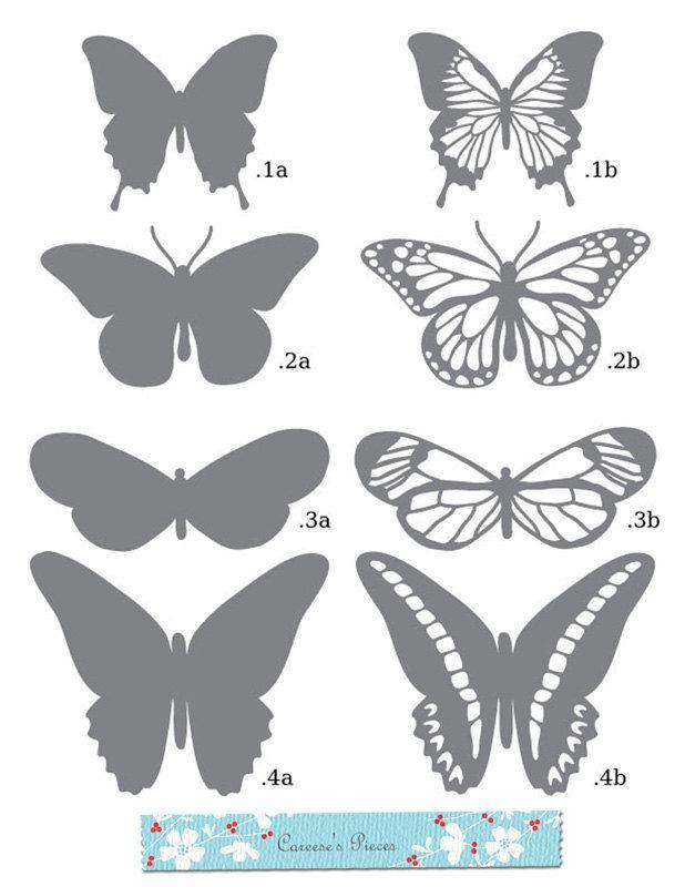 Modèle papillons 2