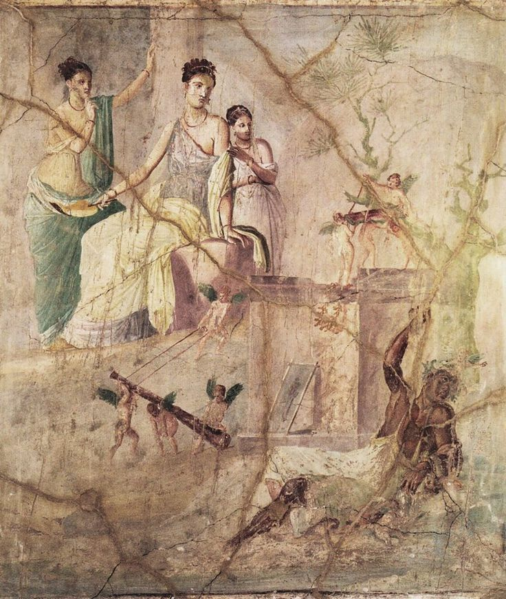 127 best greco roman paintings images on pinterest roman for Ancient roman mural