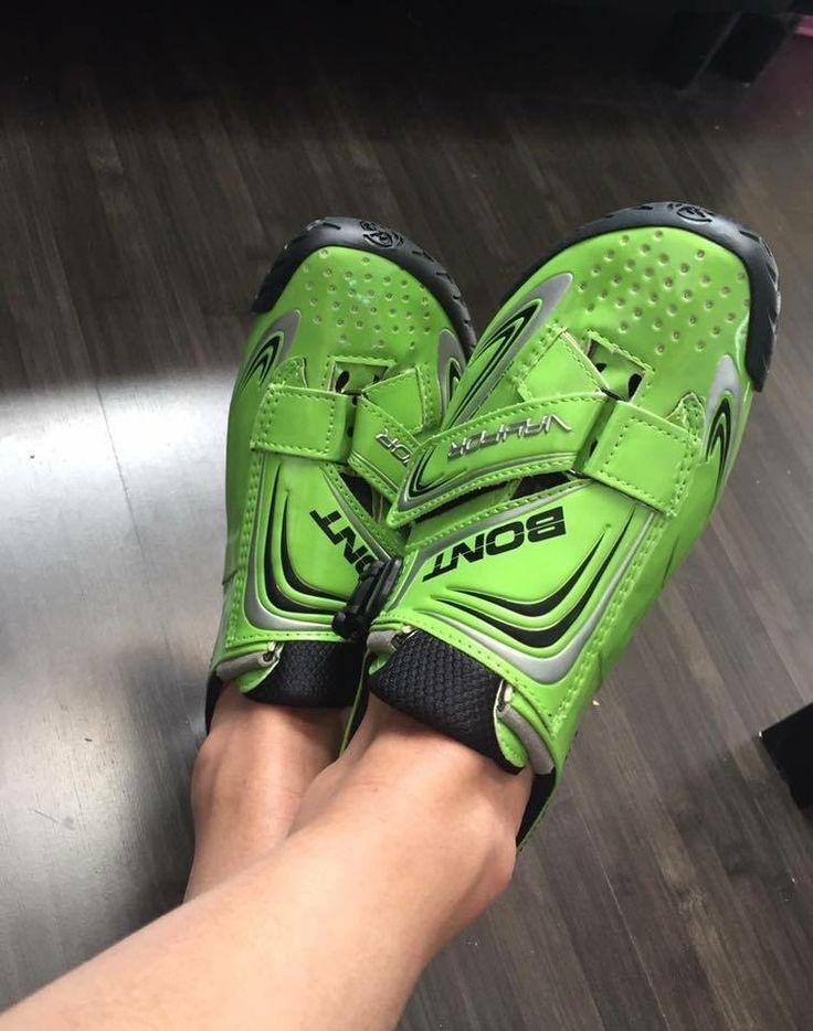 Bont Vaypor para la tranquilidad y beneficio de tus pies. Ultralivianas • Resistentes • Cómodas #bontcycling | #bontcyclingshoes | #powerbyboa | #boatechnology | #lighterstrongerfaster |