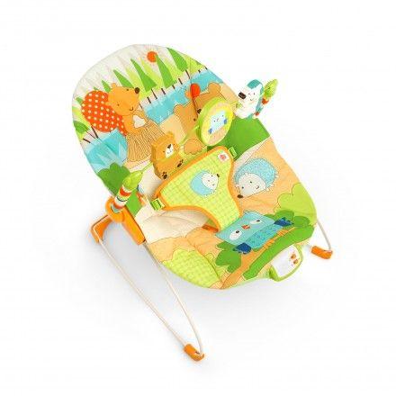 Praktické lehátko je ideální pro miminka, které potřebují dozor.