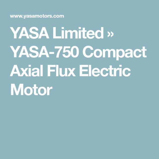 YASA Limited » YASA-750 Compact Axial Flux Electric Motor
