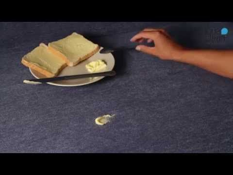Škvrny od masla - AquaClean kolekcia - YouTube