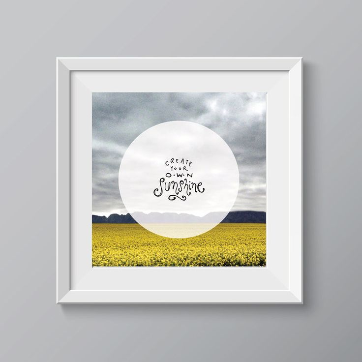 Create Your Own Sunshine by Message for sale on http://hellopretty.co.za
