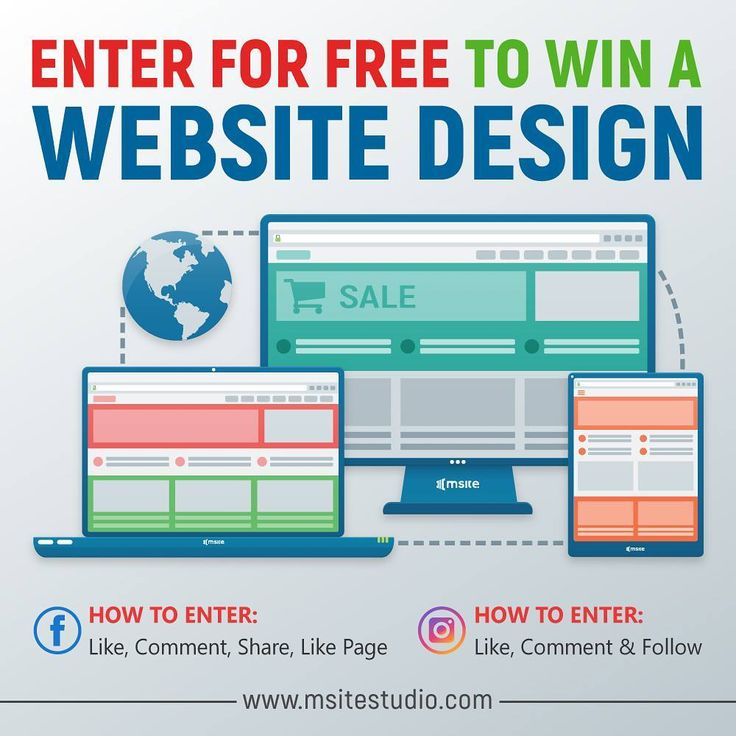 """67 Likes, 3 Comments - MSite Studio (@msitestudio) on Instagram: """"You could win a website design  for your business or personal work. It's quite simple: Like &…"""""""