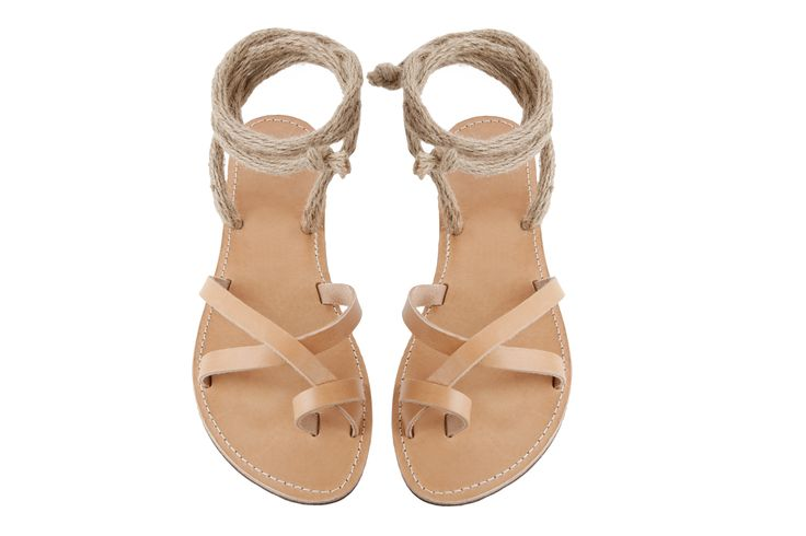 Isapera sandals : Caprice in Natural
