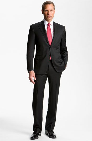 Canali Wool Suit (Free Next Day Shipping) available at #Nordstrom
