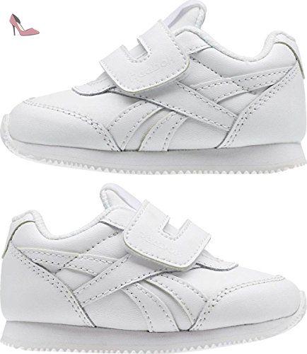 Reebok Royal Cljog 2 Kc, Sneakers Garçon, Blanc Cassé (Bianco), 24.5 EU - Chaussures reebok (*Partner-Link)