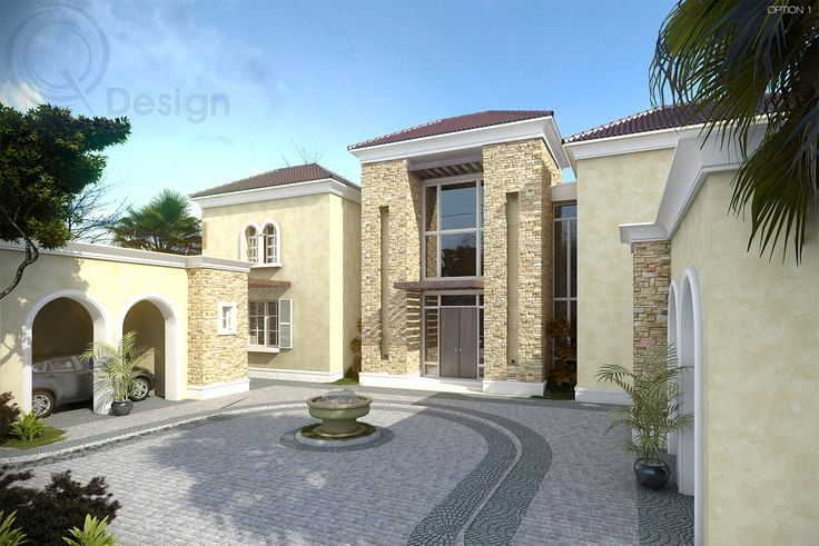 Double Story Villa Design