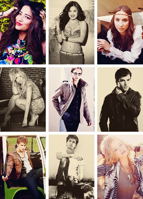 Pretty Little Liars Cast - Some of the most beautiful people on this planet.