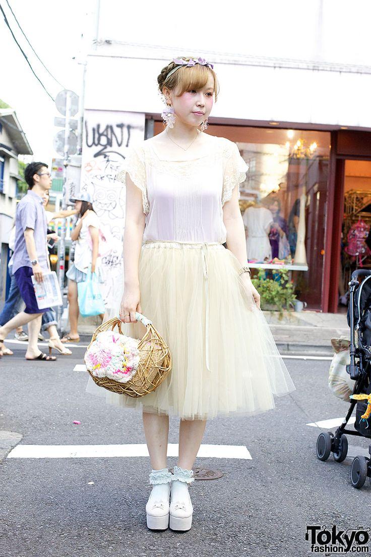 Etsuna Otsuka Harajuku Mori Girl Style