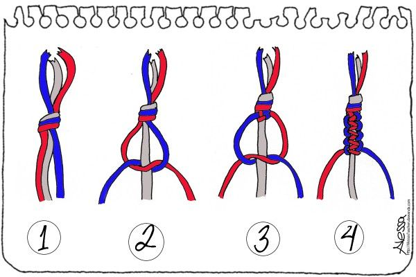 DIY - Macramé Knüpftechnik