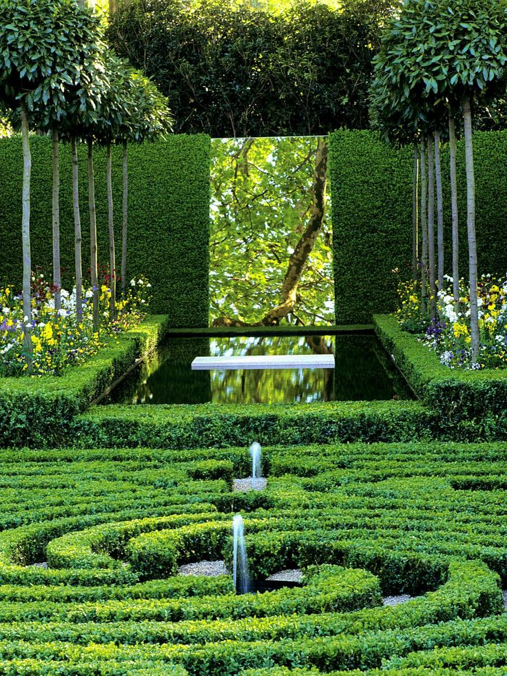 38 best Inspiration European Formal Gardens images on Pinterest