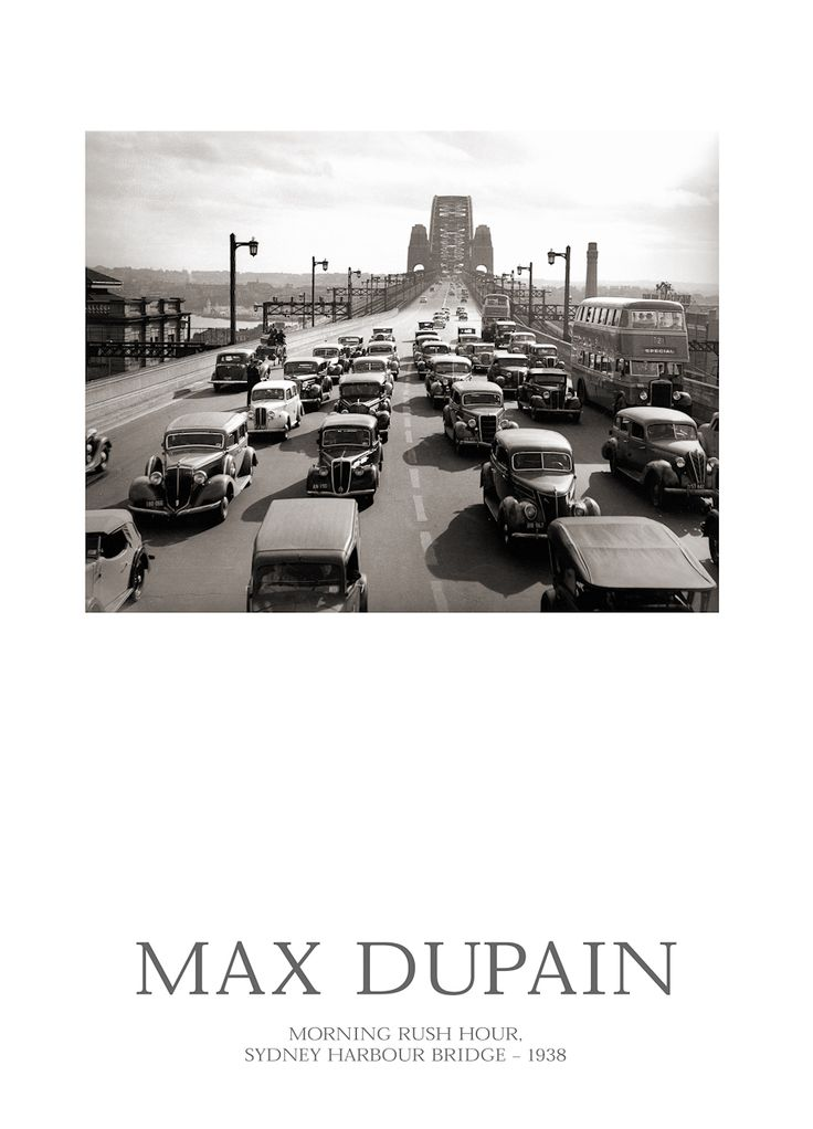 POSTERS | Max Dupain Exhibition Photography