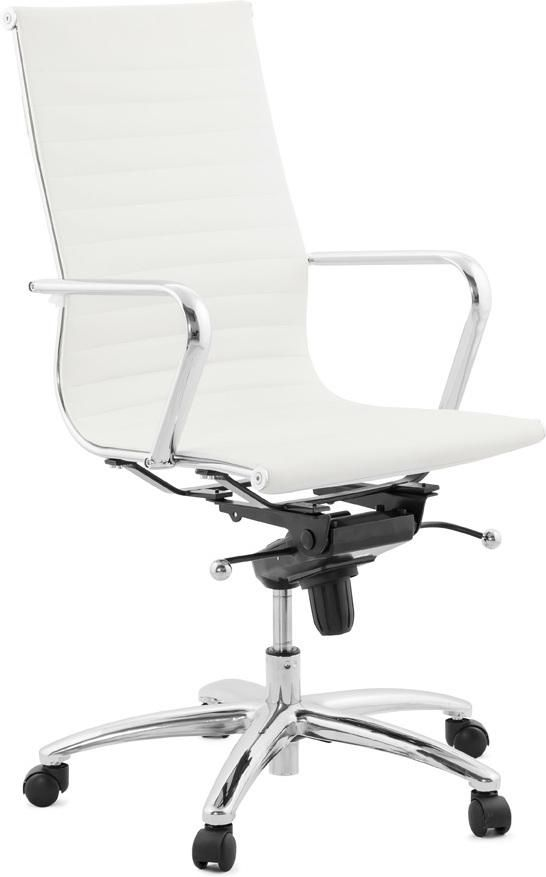 Bureaustoel Skruvsta Wit.Kokoon Design Bureaustoel Relik Wit Zakelijke Bureaustoelen