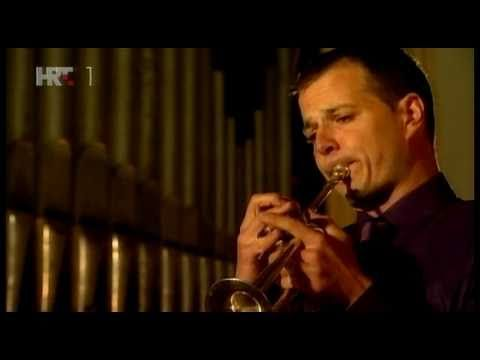 Telemann - Concert for trumpet and organ in D