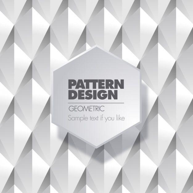Geometric pattern design Free Vector