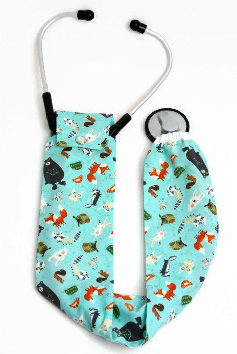 Stethoscope Cover, Stethoscope Covers, Nursing Student, Stethoscope Accessories, Medical Student, Student Nurse, Foxes, Owls, Bears, Gift by AnnabelsAccessories on Etsy https://www.etsy.com/listing/244962043/stethoscope-cover-stethoscope-covers