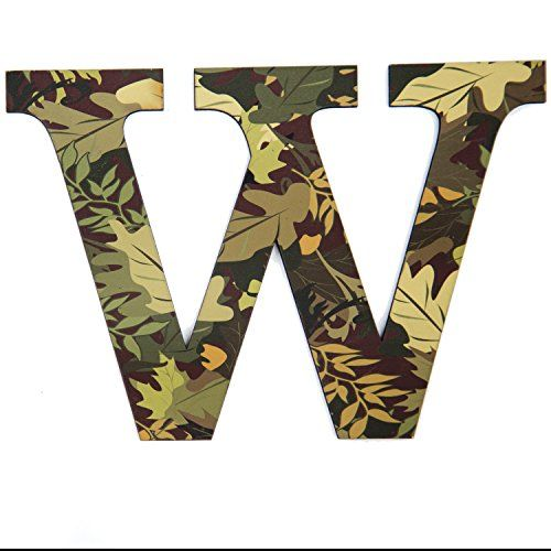 11 Tall Mossy Oak Designer Camo Wall Letter WCamo Pattern3d Wall DecorUnique Wall Initial for Living RoomBedroomMan CaveBoys RoomGirls Room KitchenEntrywayBathroomKids -- Click on the image for additional details.