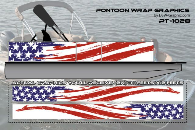 New Hunting Diy Wrapping Pontoon Wrap Graphics Kit Decal Stickers Pt 1028 Pontoon Hunting Diy Boat Decals