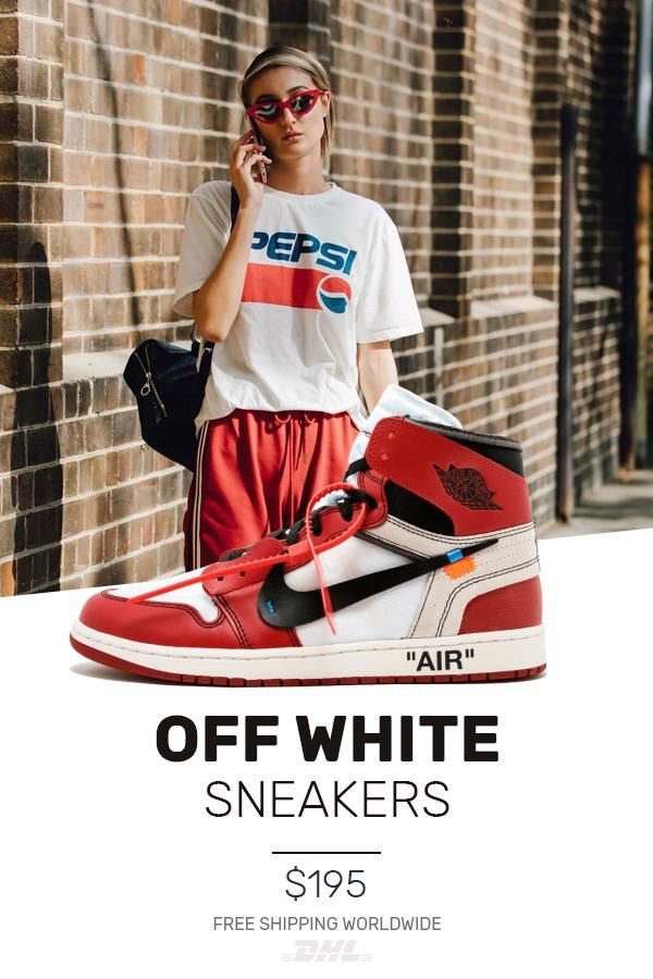 the perfect Nike Off-White Air Jordan 1 Red   OW UA in 2019 ... c10a8c321