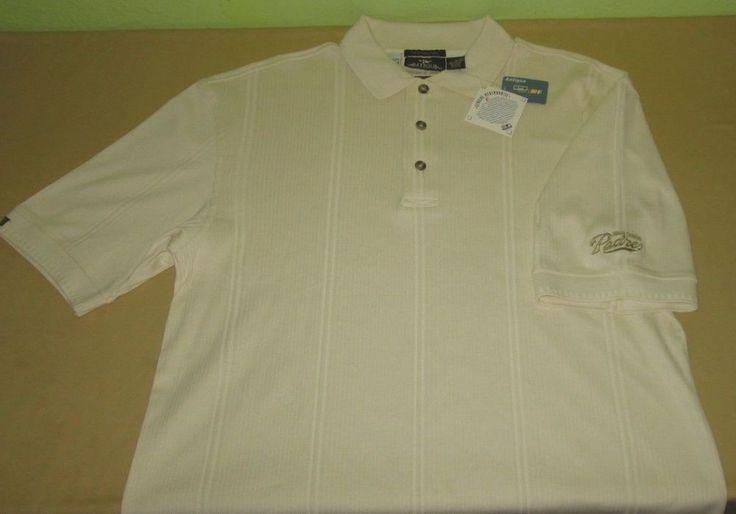 New SAN  DIEGO PADRES  MLB Polo Golf  Shirt  Size Sz M - Beige - Antigua NWT #Antigua #SanDiegoPadres