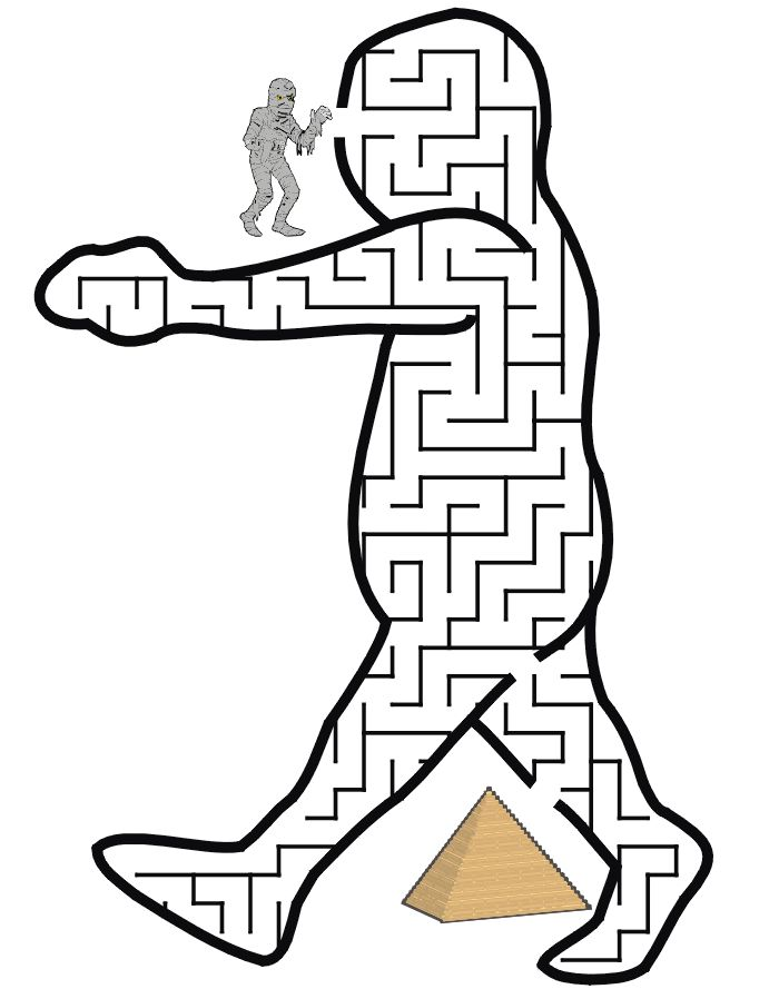 Mummy Maze Get The To Its Pyramid