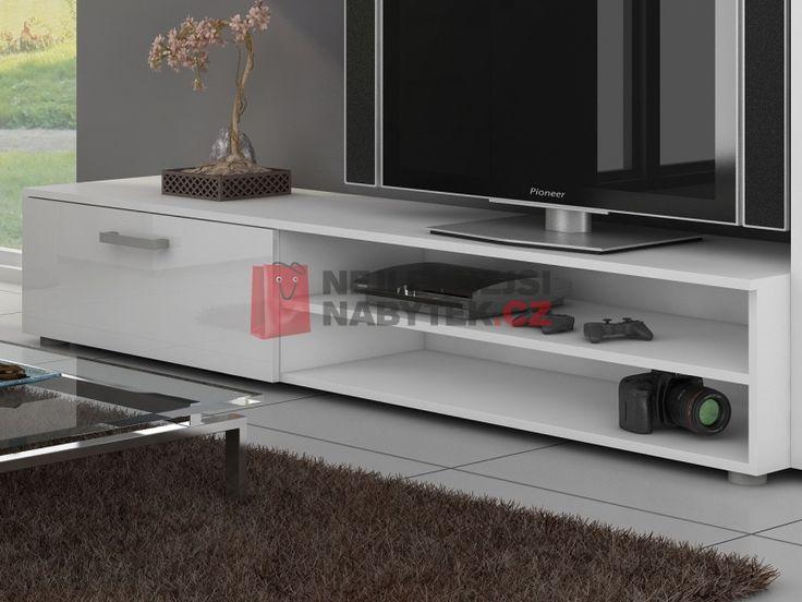STELLA, televizní stolek, barva: ...